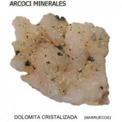 DOLOMITA CRISTALIZADA (MARRUECOS)