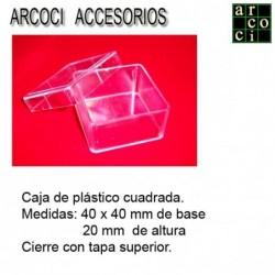 Caja de plástico 40 x 40 x 20