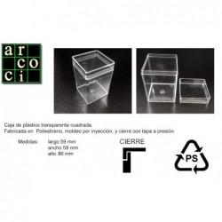 Caja de plástico 59 x 59 x 86