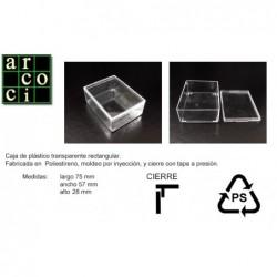 Caja de plástico 75 x 57 x 28