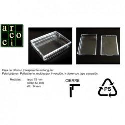 Caja de plástico 75 x 57 x 14
