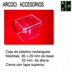 Caja de plástico 36 x 29 x 32