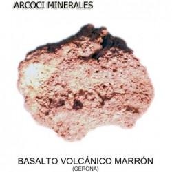 BASALTO VOLCÁNICO MARRÓN (GERONA)