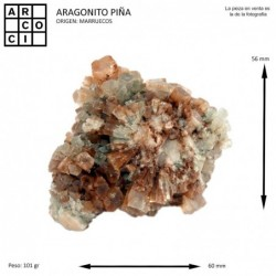 ARAGONITO PIÑA (MARRUECOS)