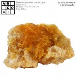 SELENITA CRISTALIZADA AMARILLA (PERU)