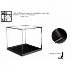 Caja de plástico 8,4 x 8,4 blanca