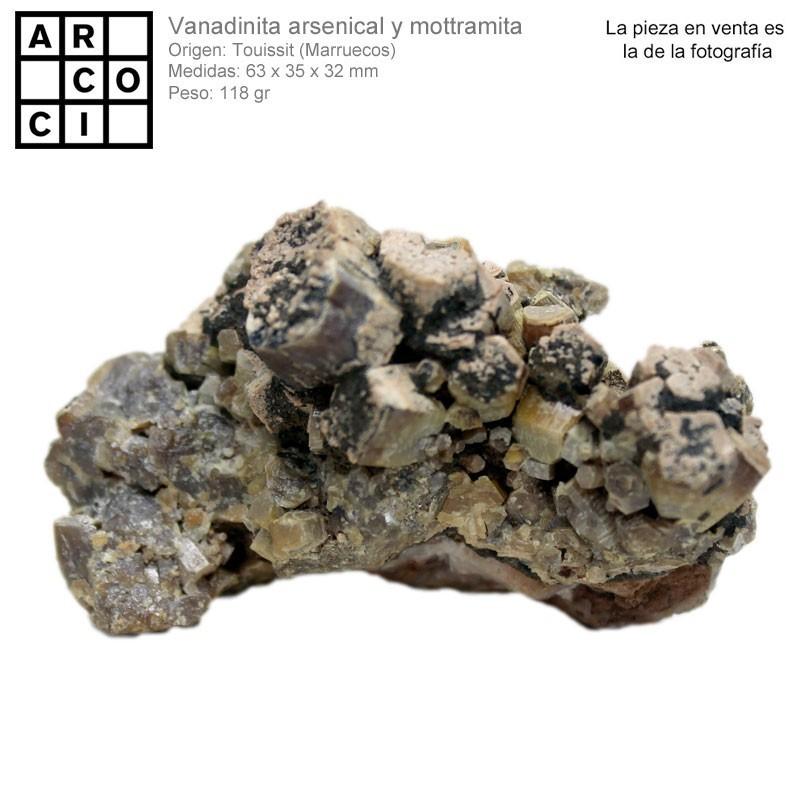 ENDLICHITA / VANADINITA ARSENICAL (MARRUECOS)