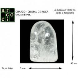CUARZO - CRISTAL DE ROCA (BRASIL)
