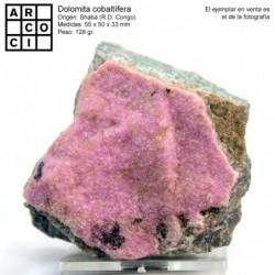DOLOMITA COBALTÍFERA (R.D.CONGO)
