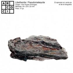 LIBETHENITA / PSEUDOMALAQUITA (PORTUGAL)