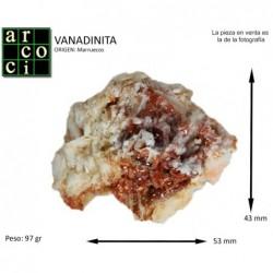 VANADINITA (MARRUECOS)