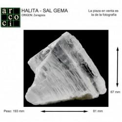 HALITA - SAL GEMA (ZARAGOZA)