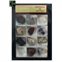 Colección Minerales de Asturias