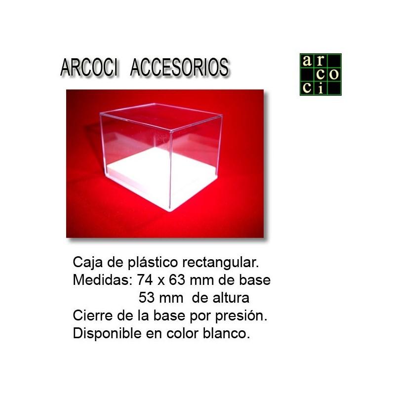 Caja de plástico 74 x 63 x 53 mm
