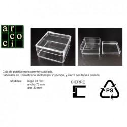 Caja de plástico 73 x 73 x 33