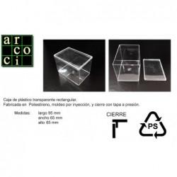 Caja de plástico 95 x 65 x 65