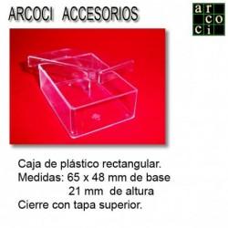 Caja de plástico 65 x 48 x 21