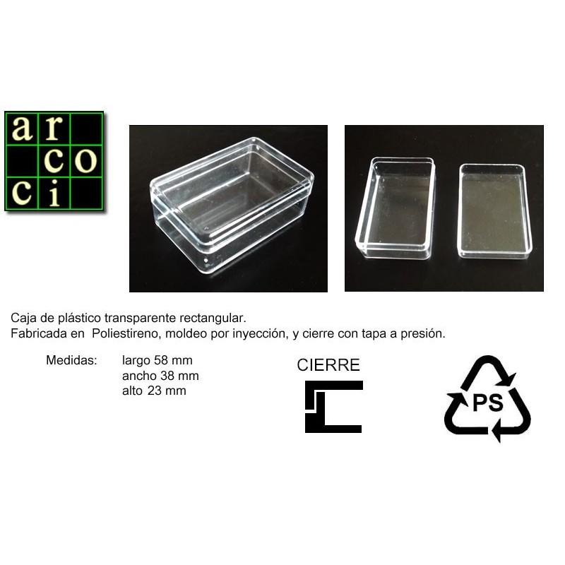 Caja de plástico 28 x 38 x 23