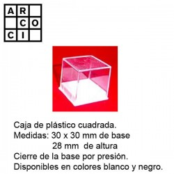 Caja de plástico 30 x 30...