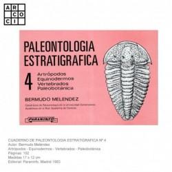 PALEONTOLOGIA ESTRATIGRAFICA Nº 4