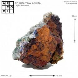 AZURITA Y MALAQUITA