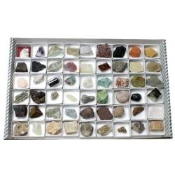 Colección rocas y minerales...