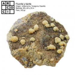 fluorita y barita