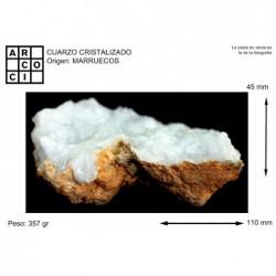 CUARZO CRISTALIZADO (MARRUECOS)